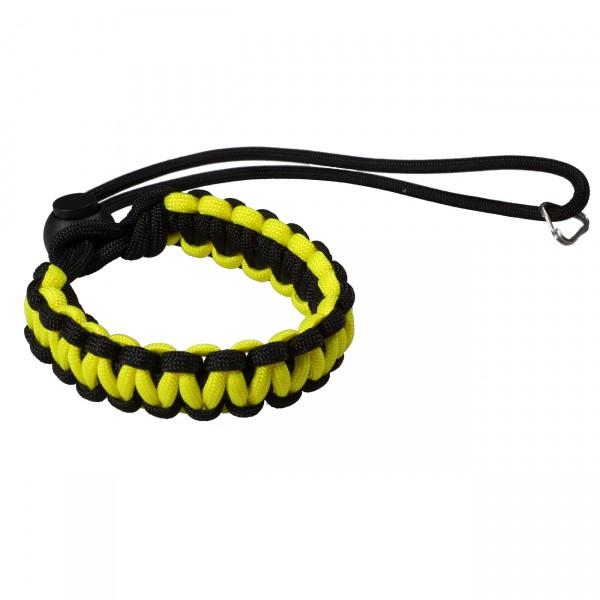kalahari loop! Handschlaufe, schwarz/gelb